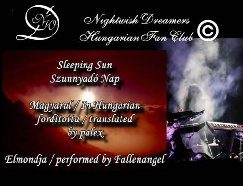 Sleeping Sun Nightwish Dreamers Versvideó
