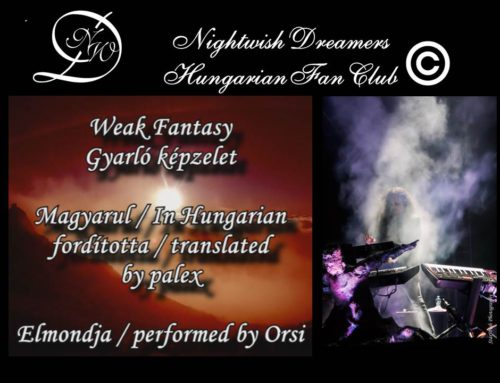 Weak Fantasy – Nightwish Dreamers Versvideó