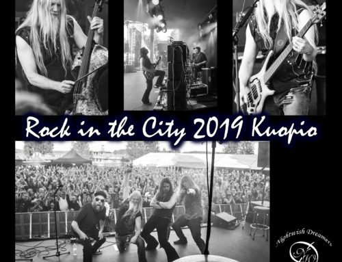 Marko Hietala a Rock in the City 2019 Kuopio-ról