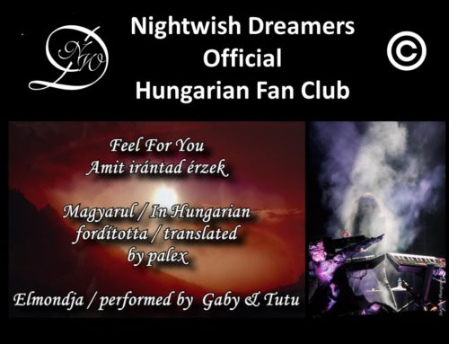 Nightwish Dreamers Versvideó – Feel For You